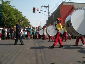 Programação termina com desfile cívico de 7 de Setembro